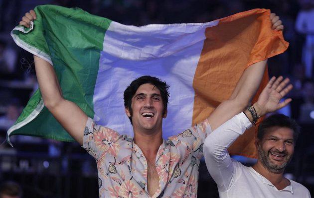 Conor McGregor měl v Las Vegas podporu irských fanoušků.