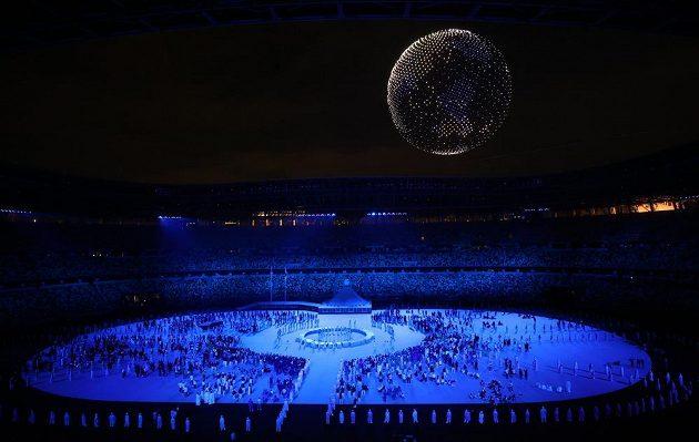 Slavnostní zahájení olympijských her v Tokiu
