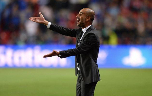 Trenér Bayernu Josep Guardiola.