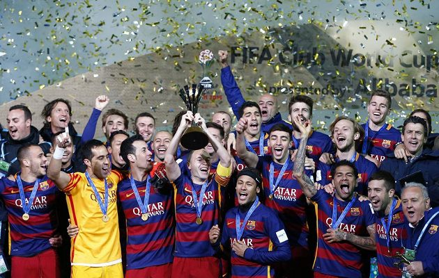 Barcelona slaví již třetí triumf na MS klubů.