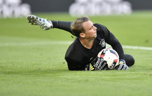 Německý brankář Manuel Neuer.