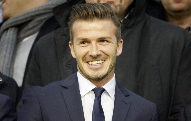 David Beckham z Parist Saint-Germain do úvodního zápasu s Valencií ještě nezasáhl.