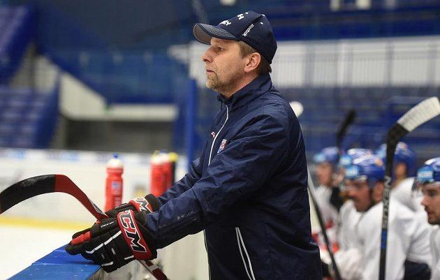 Asistent trenéra Vladimíra Vůjtka a budoucí kouč národního týmu Josef Jandač.