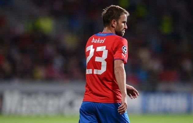 Slovenský útočník Marek Bakoš nastoupil po dlouhé době v základní sestavě Plzně v duelu Ligy mistrů proti Manchesteru City.