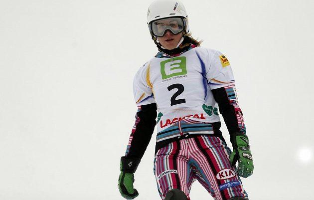 Ledecká je první českou mistryní světa v paralelním slalomu.