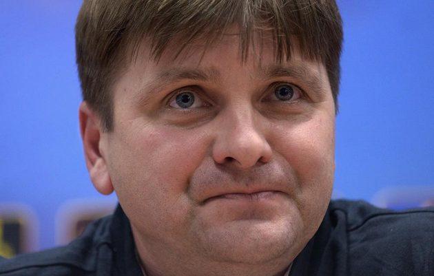 Kouč Dušan Uhrin ml. před utkáním s Doněckem, které bude jeho soutěžní premiérou na lavičce Plzně.