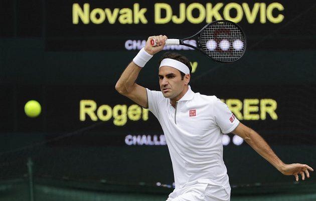 Roger Federer bojoval o svůj devátý wimbledonský titul
