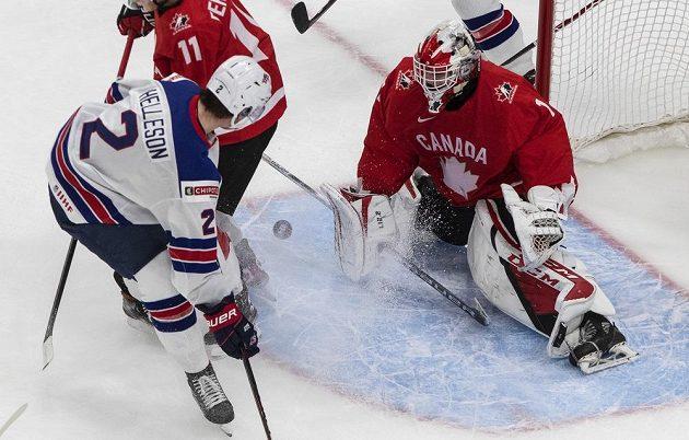 Boj o zlato mezi Kanadou a USA.