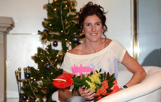 Překážkářka Zuzana Hejnová se stala Sportovkyní roku 2013.