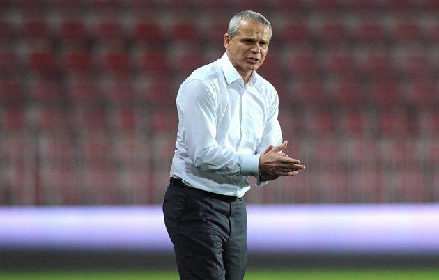 Trenér Sparty Vítězslav Lavička