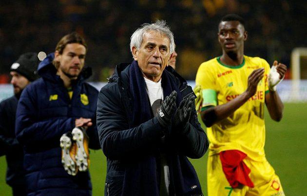 Trenér fotbalistů francouzského FC Nantes trenér Vahid Halilhodžič měl při vzpomínce na svého svěřence Salu slzy v očích.