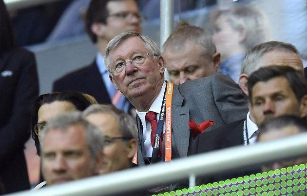 Na finále Evropské ligy se přišel podívat i legendární kouč a bývalý lodivod Manchesteru United Sir Alex Ferguson.