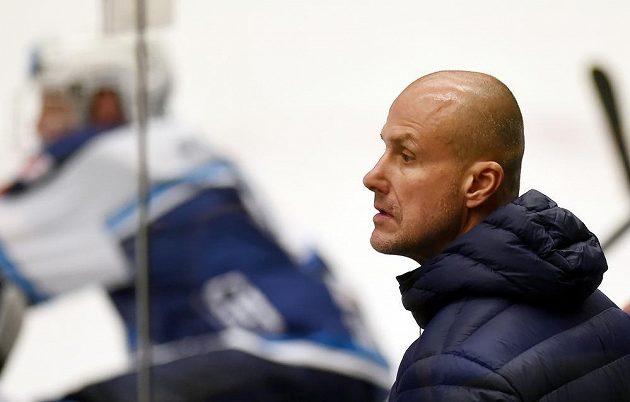 Nový trenér Plzně Martin Straka během zápasu ve Vítkovicích.