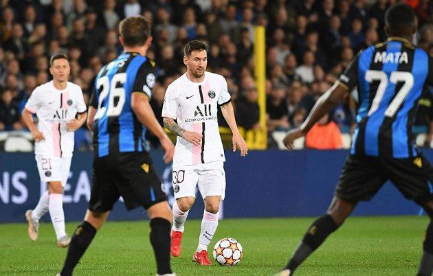 Lionel Messi se poprvé v Lize mistrů představil v dresu PSG