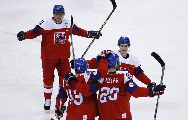 Jan Kolář vymazal dělovkou od modré náskok týmu USA v olympijském čtvrtfinále.