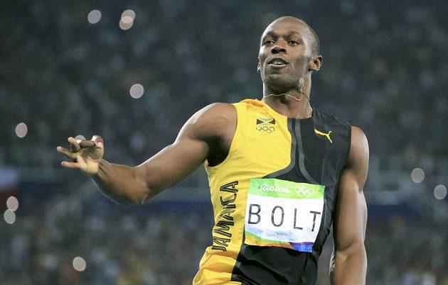 Ani ve štafetě na 4x100 metrů nenašel Usain Bolt přemožitele.