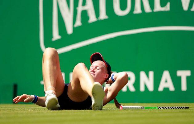 Nizozemská tenistka Kiki Bertensová neměla na trávě v Eastbourne nárok.