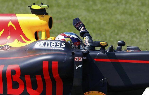 Max Verstappen z Red Bullu vyhrál GP Španělska v Barceloně.