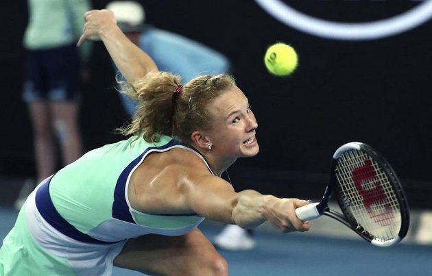 Kateřina Siniaková na Australian Open.