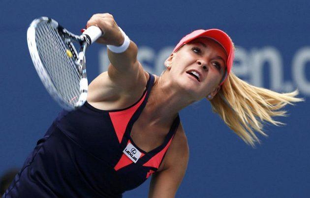 Polská tenistka Agnieszka Radwaňská bez potíží postoupila na US Open do druhého kola.