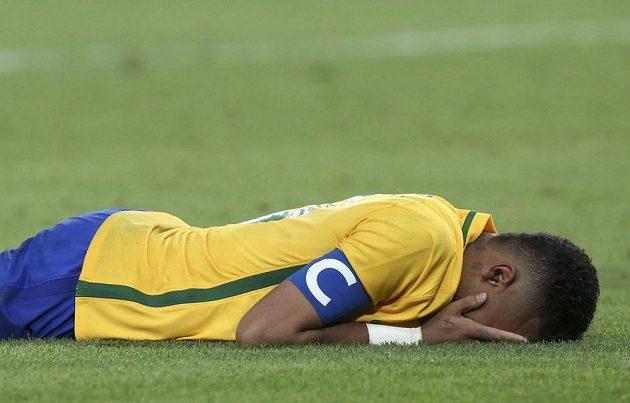 Zlato zůstane v Brazílii. Neymar jakoby nevěřil.