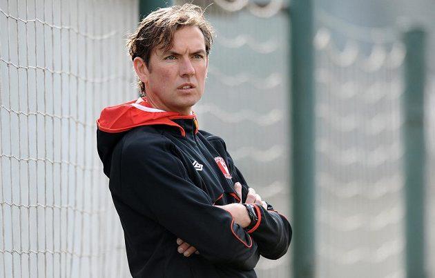 Nový trenér Slavie Alex Pastoor.