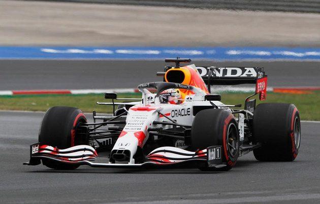 Pilot Red Bullu Max Verstappen zajel třetí nejrychlejší čas během kvalifikace na Velkou cenu Turecka F1.