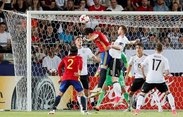 Finále EURO hráčů do 21 let svedlo proti sobě fotbalisty Německa a Španělska.