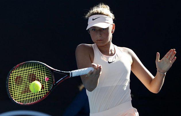Ukrajinská tenistka Marta Kosťuková.