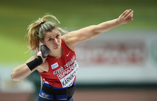 Koulařka Jana Kárníková v kvalifikace neuspěla.