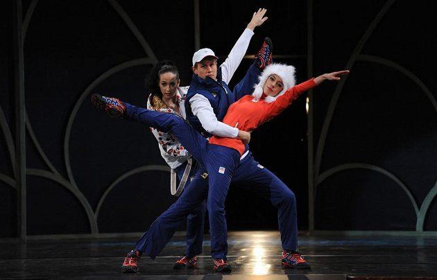 Český olympijský výbor představil oficiální oblečení pro ZOH v Soči.