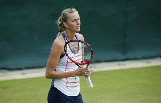 Obhájkyně titulu Petra Kvitová působí před startem Wimbledonu trochu rozpačitě.