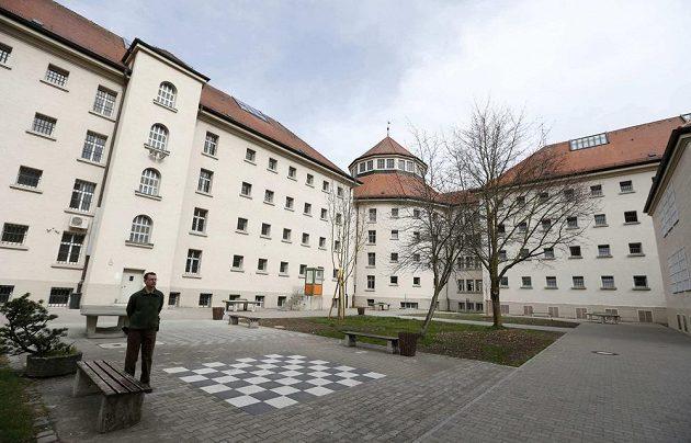 Nádvoří věznice v Landsbergu.
