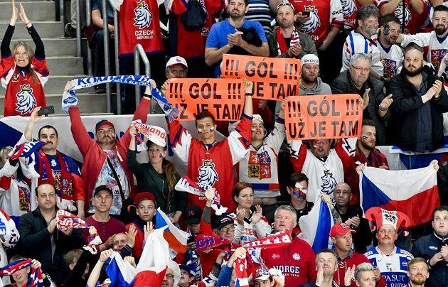 Čeští fanoušci měli s Norskem hodně důvodů k radosti.