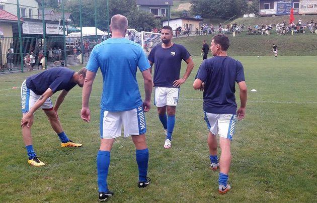 Legendární fotbalový útočník Milan Baroš je zpátky ve hře. Profesionální kariéru v Baníku Ostrava sice ukončil, zahrál si ale I.A třídu Zlínského kraje za rodné Vigantice.