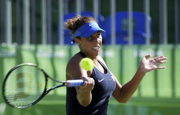 Talentovaná Američanka Madison Keysová byla Petře Kvitové velkou soupeřkou.