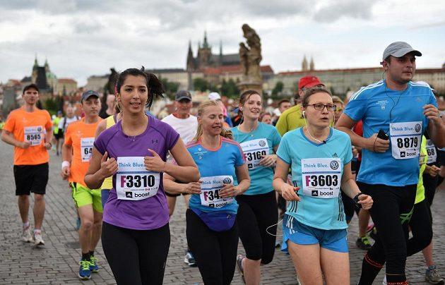 Jubilejní 20. ročník tradičního Pražského maratónu.