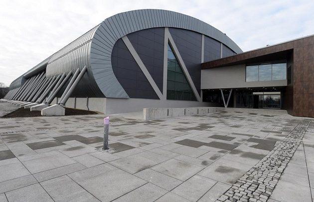 Atletická hala ve Vítkovicích.