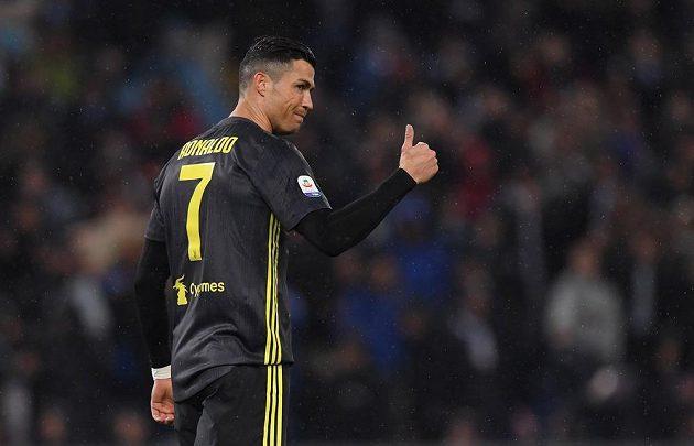 Juventus vyhrál v italské fotbalové lize další zápas díky proměněné penaltě Cristiana Ronalda