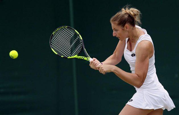 Kristýna Plíšková na letošním Wimbledonu nepřešla přes 1. kolo.
