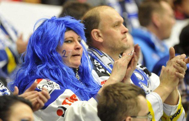 Fanoušci Komety svůj tým i přes nepříznivý výsledek stále podporovali.
