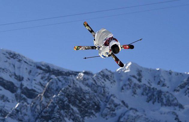 Švéd Jesper Tjader během olympiády v Soči.