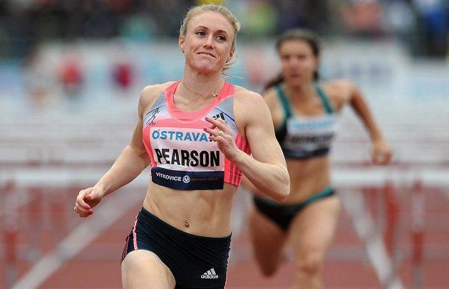 Australská překážkářka Sally Pearsonová zvítězila na mítinku Zlatá tretra.