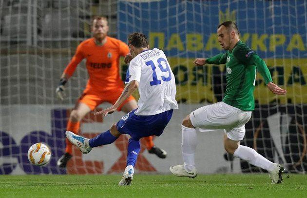 Denys Garmaš přidal brzy druhý gól Dynama Kyjev.