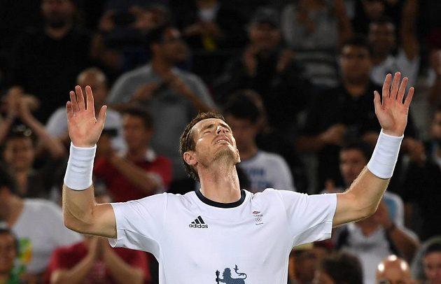 Andy Murray v Riu obhájil zlatou medaili z dvouhry.