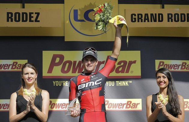 Belgický cyklista Greg van Avermaet, vítěz třinácté etapy Tour de France.