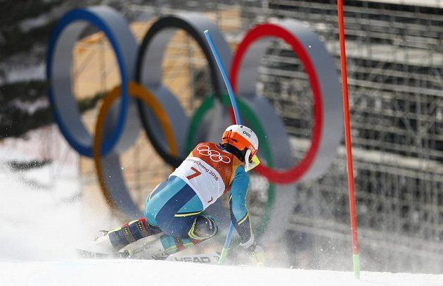 Slalom na hrách v Pchjongčchangu vyhrál senzačně Švéd André Myhrer.