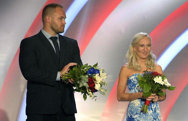 Koulař Tomáš Staněk a běžkyně Eva Vrabcová Nývltová obsadili třetí a čtvrté místo.