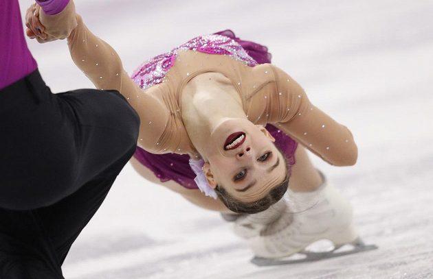 Čeští reprezentanti Anna Dušková a Martin Bidař mají na olympiádě v soutěži sportovních dvojic za sebou krátký program.