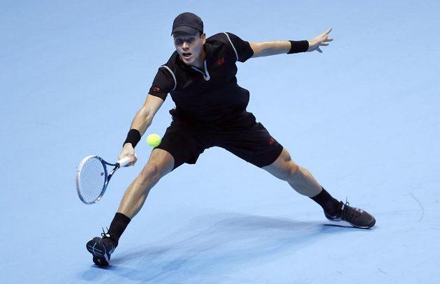 Tomáš Berdych na Turnaji mistrů v Londýně.